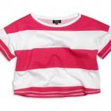 kolorowa bluzeczka KappAhl w paski - z kolekcji wiosna-lato 2012