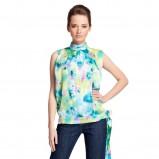 kolorowa bluzeczka Quiosque w kwiaty - kolekcja wiosenno/letnia