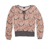 kolorowa bluzka Bialcon we wzorki - jesień/zima 2011/2012