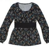 kolorowa bluzka Carry we wzorki - jesień/zima 2011/2012