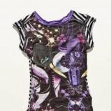kolorowa bluzka Custo Barcelona - moda 2011