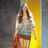 kolorowa bluzka Patrizia Pepe - wiosna/lato 2011