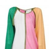 kolorowa bluzka Stefanel - sezon letni