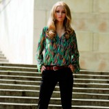 kolorowa bluzka TARANKO - 2012 jesienne trendy