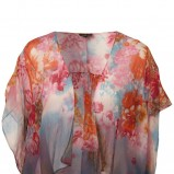 kolorowa bluzka Topshop w kwiaty - kolekcja wiosenno/letnia