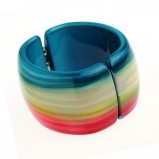 kolorowa bransoletka Solar w pasy - wiosna/lato 2012