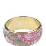 kolorowa bransoletka Top Secret w kwiaty - trendy wiosna-lato