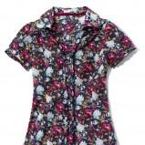 kolorowa koszula Cropp w kwiaty - moda wiosna/lato