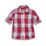 kolorowa koszula KappAhl w kratkę - wiosna-lato 2012
