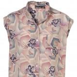 kolorowa koszula Topshop we wzory - wiosna 2011