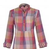 kolorowa koszula Troll w kratkę - z kolekcji wiosna-lato 2011