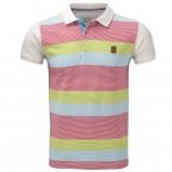 kolorowa koszulka Henri Lloyd w pasy polo - z kolekcji wiosna-lato 2011