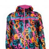 kolorowa kurtka Adidas - trendy jesienne