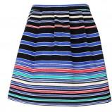 kolorowa spódnica Camaieu w paski - wiosna/lato 2012