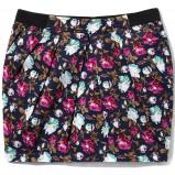kolorowa spódnica Cropp w łączkę - moda 2012