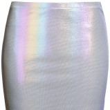 kolorowa spódnica H&M krótka - lato 2012