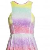 kolorowa spódnica H&M warstwowa - lato 2012