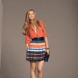 kolorowa spódnica Orsay w paski - wiosna/lato 2012