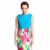 kolorowa spódnica Quiosque w kwiaty - kolekcja wiosenno/letnia