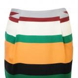 kolorowa spódnica Solar w geometryczne wzory - z kolekcji wiosna-lato 2012