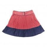 kolorowa spódnica Springfield plisowana - moda wiosna/lato