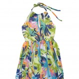 kolorowa sukienka C&A w łączkę - kolekcja na lato