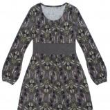 kolorowa sukienka Carry we wzorki - jesień/zima 2011/2012