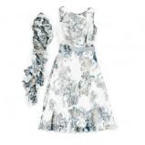 kolorowa sukienka Hexeline z paskiem - lato 2011
