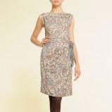 kolorowa sukienka Mango we wzory - jesień-zima 2010/2011