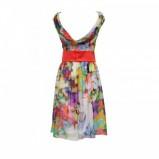 kolorowa sukienka Modesta w kwiaty - lato 2011