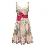 kolorowa sukienka Modesta z kokardą - lato 2011