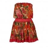 kolorowa sukienka River Island - moda jesień/zima 2010