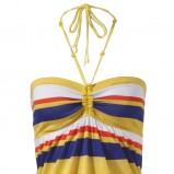 kolorowa sukienka s.Oliver w paski - lato 2012