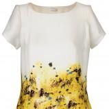 kolorowa sukienka Solar w łączkę - z kolekcji wiosna-lato 2012