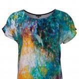 kolorowa sukienka Solar - wiosna 2013