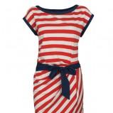 kolorowa sukienka Top Secret w paski - lato 2012