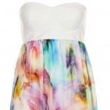 kolorowa sukienka Topshop  - lato 2013
