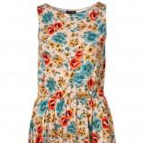 kolorowa sukienka Topshop w kwiaty - wiosna-lato 2011