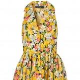 kolorowa sukienka Topshop w kwiaty - wiosna/lato 2012