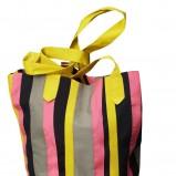 kolorowa torba H&M w paski - wiosna/lato 2011