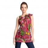 kolorowa tunika Quiosque we wzory - wiosenna kolekcja