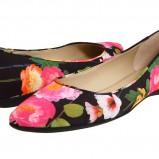 kolorowe baleriny Nine West w kwiaty - wiosna/lato 2012