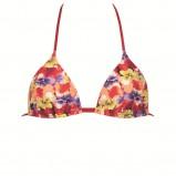 kolorowe bikini Calzedonia w łączkę - z kolekcji wiosna-lato 2012
