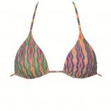 kolorowe bikini Calzedonia we wzory - z kolekcji wiosna-lato 2012