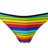 kolorowe bikini Esotiq w paski - lato 2011