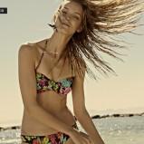 kolorowe bikini Reserved we wzorki - wiosenna kolekcja