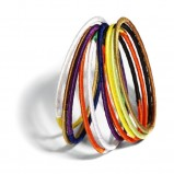 kolorowe bransoletki House - z kolekcji wiosna-lato 2012