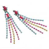 kolorowe kolczyki H&M - lato 2012
