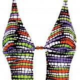 kolorowe monokini Aliganza we wzory - z kolekcji wiosna-lato 2012