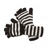 kolorowe rękawiczki Big Star w paski - jesień/zima 2011/2012